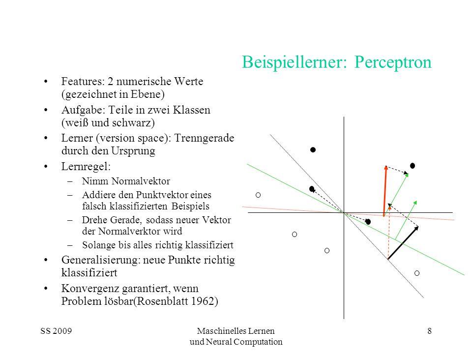 Beispiellerner: Perceptron