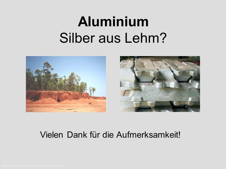 Aluminium Silber aus Lehm
