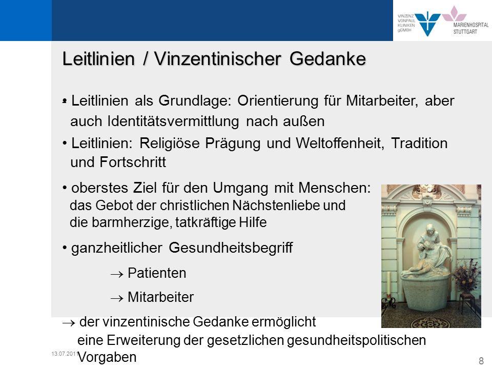 Leitlinien / Vinzentinischer Gedanke