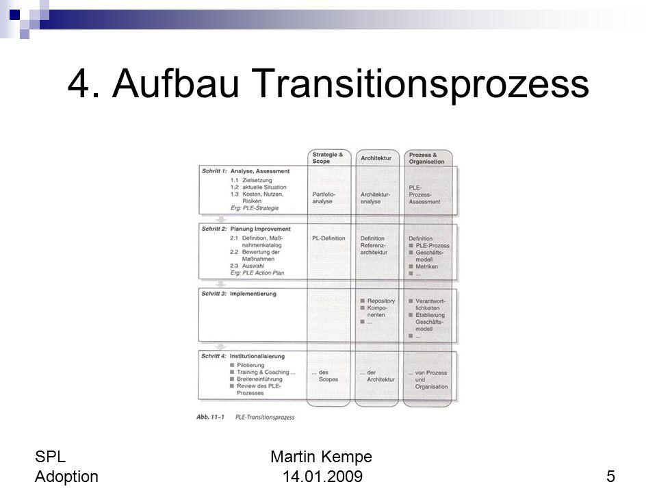 4. Aufbau Transitionsprozess