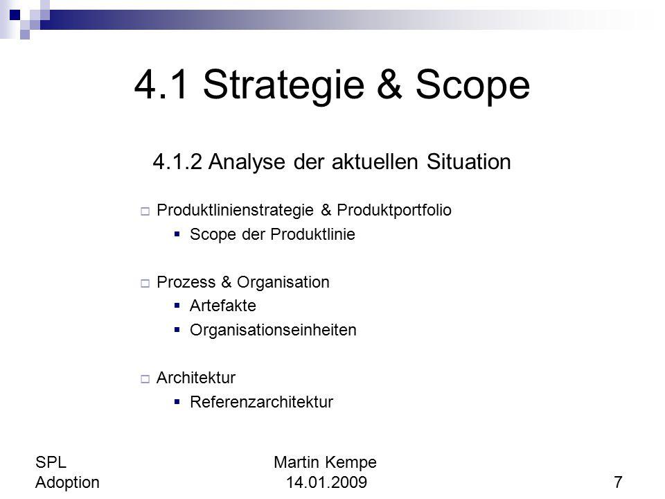 4.1.2 Analyse der aktuellen Situation