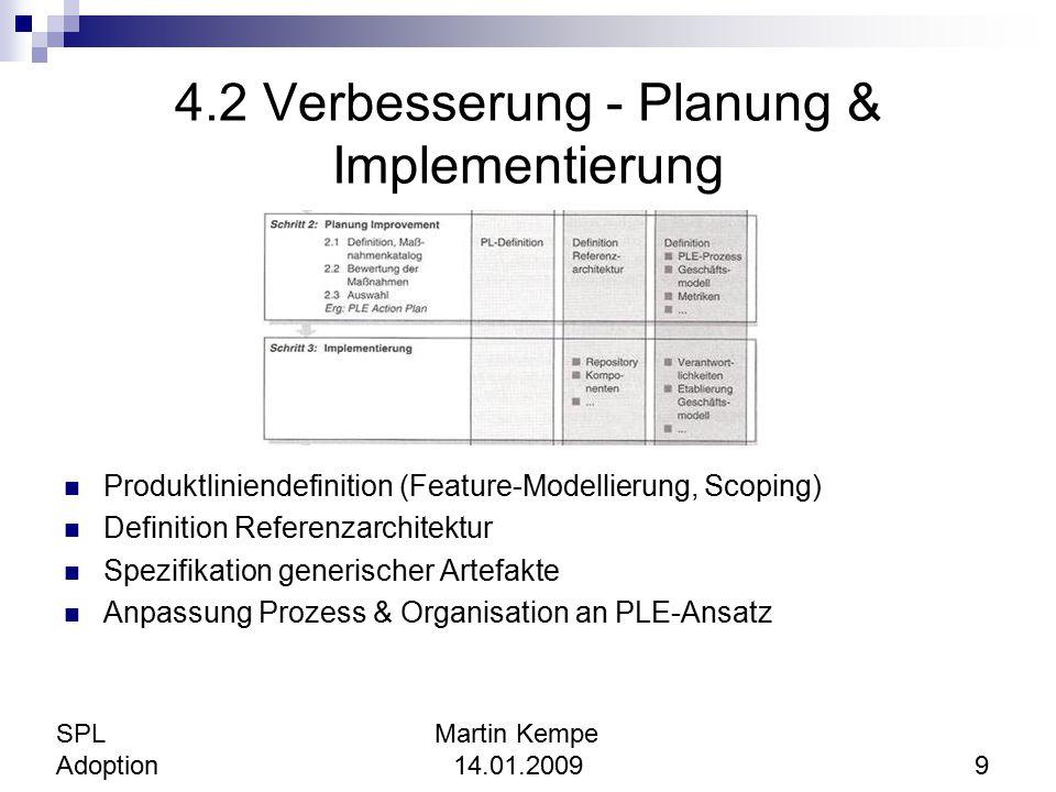 4.2 Verbesserung - Planung & Implementierung