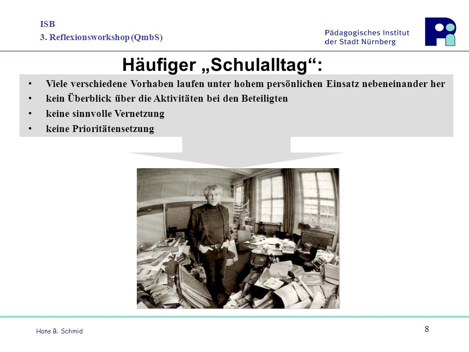 """Häufiger """"Schulalltag :"""