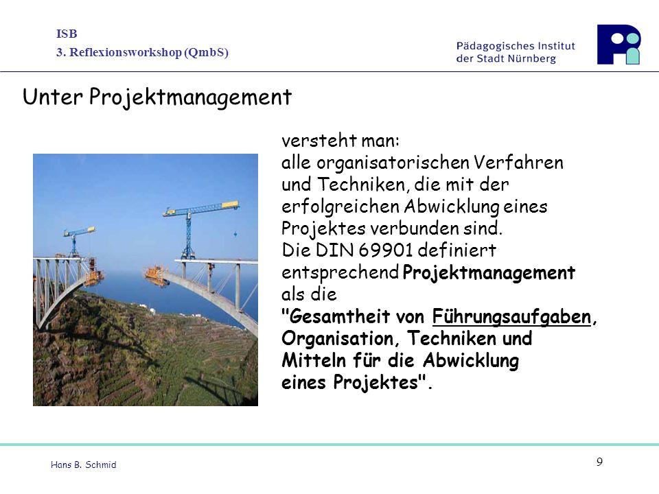 Unter Projektmanagement