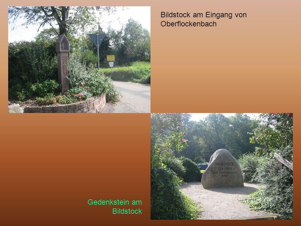 Bildstock am Eingang von Oberflockenbach