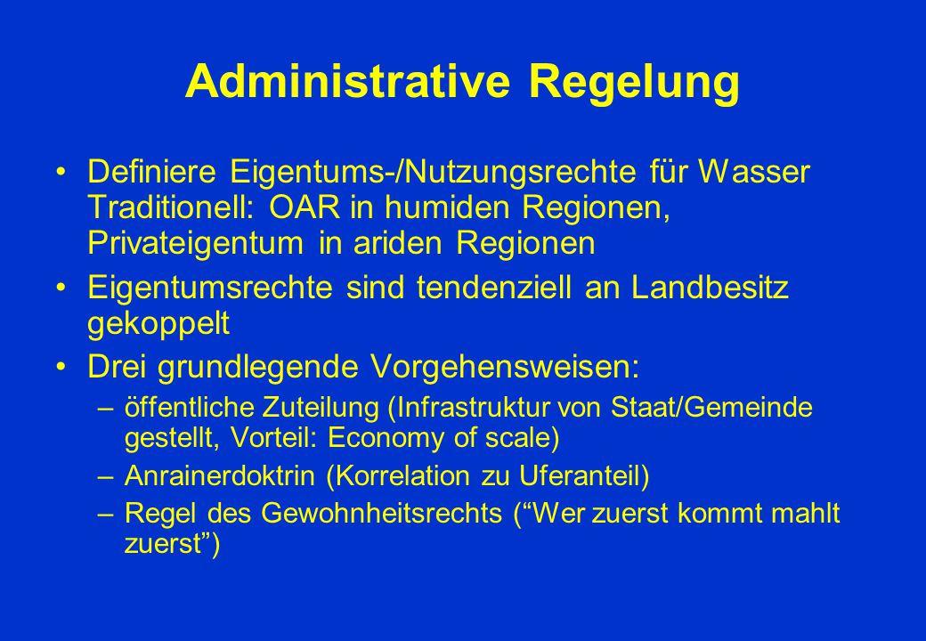 Administrative Regelung