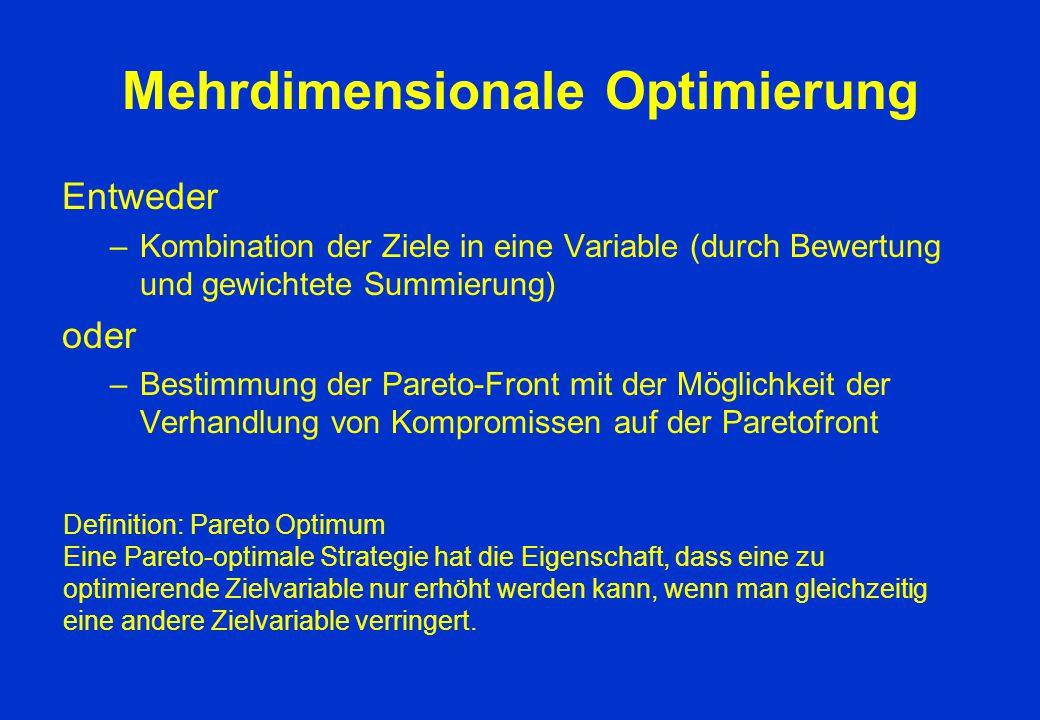 Mehrdimensionale Optimierung