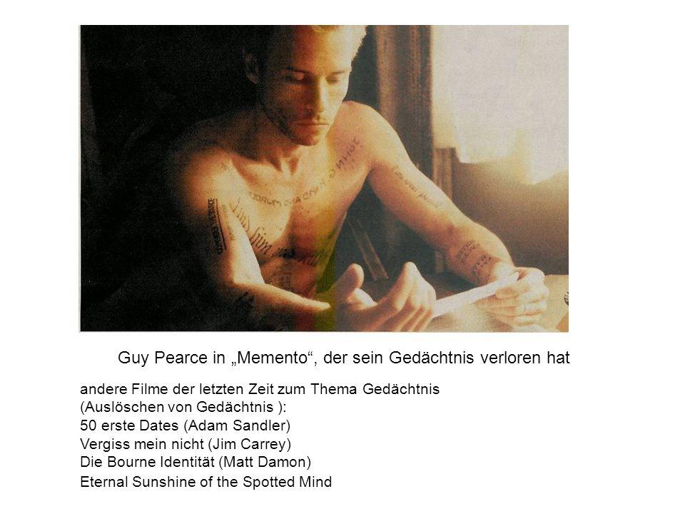 """Guy Pearce in """"Memento , der sein Gedächtnis verloren hat"""