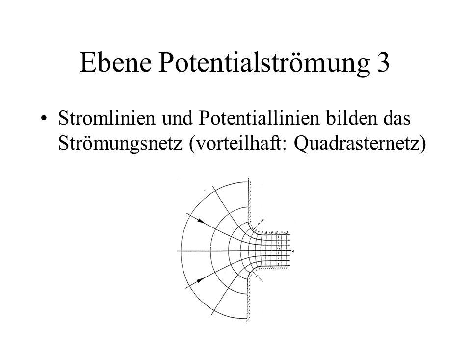 Ebene Potentialströmung 3