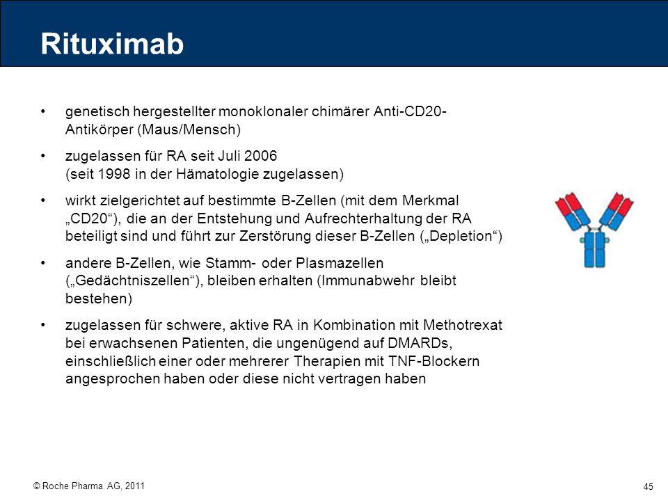 Rituximab genetisch hergestellter monoklonaler chimärer Anti-CD20-Antikörper (Maus/Mensch)