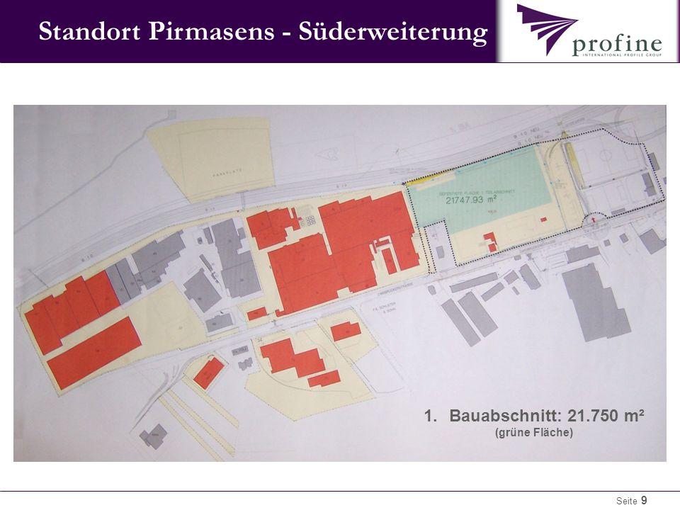 Standort Pirmasens - Süderweiterung