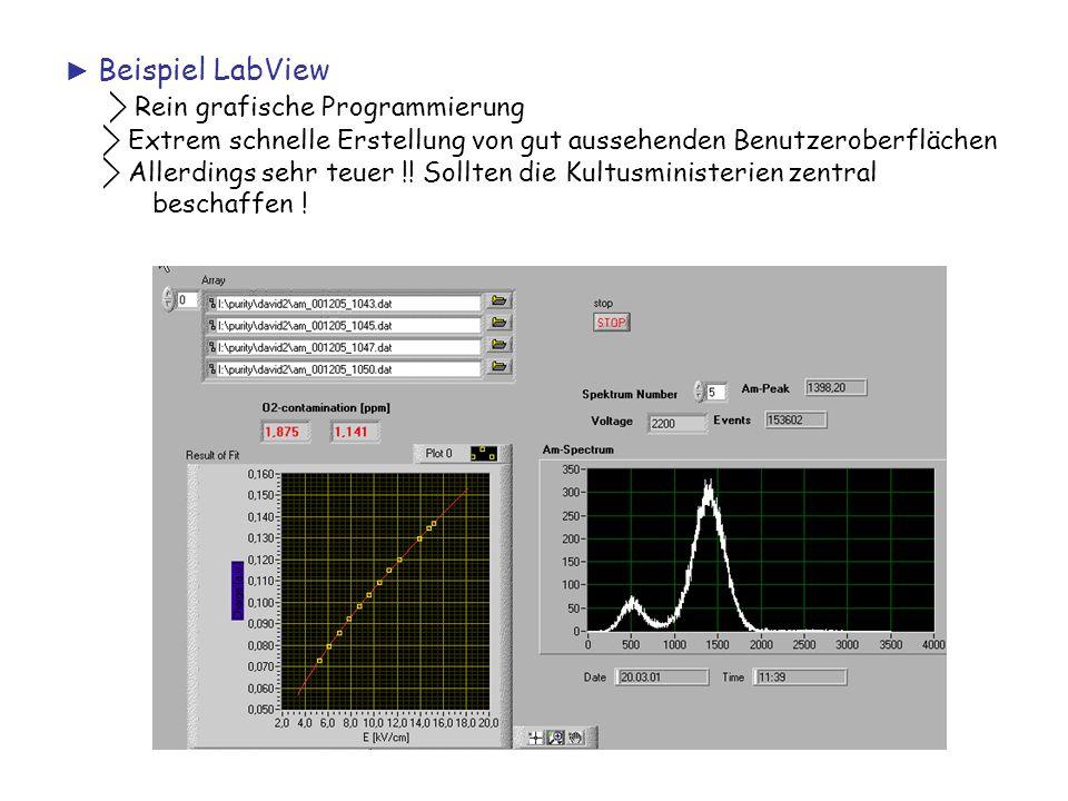 ⃟ Rein grafische Programmierung
