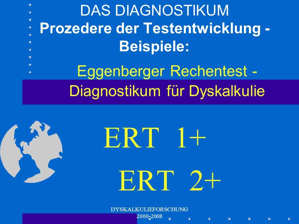 DAS DIAGNOSTIKUM Prozedere der Testentwicklung - Beispiele: