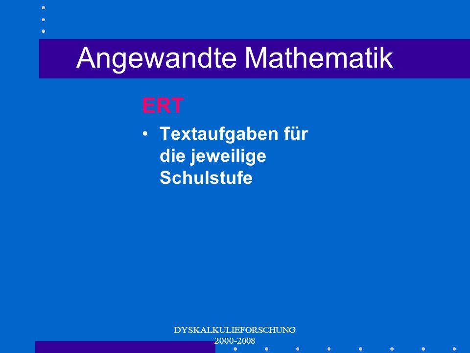 Angewandte Mathematik