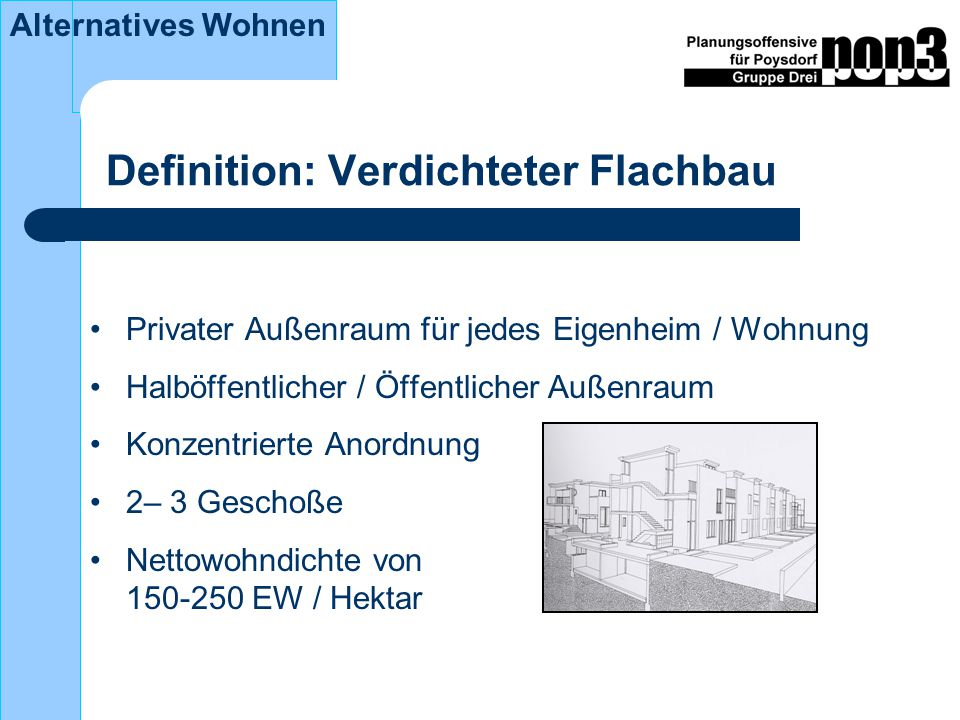 Definition: Verdichteter Flachbau