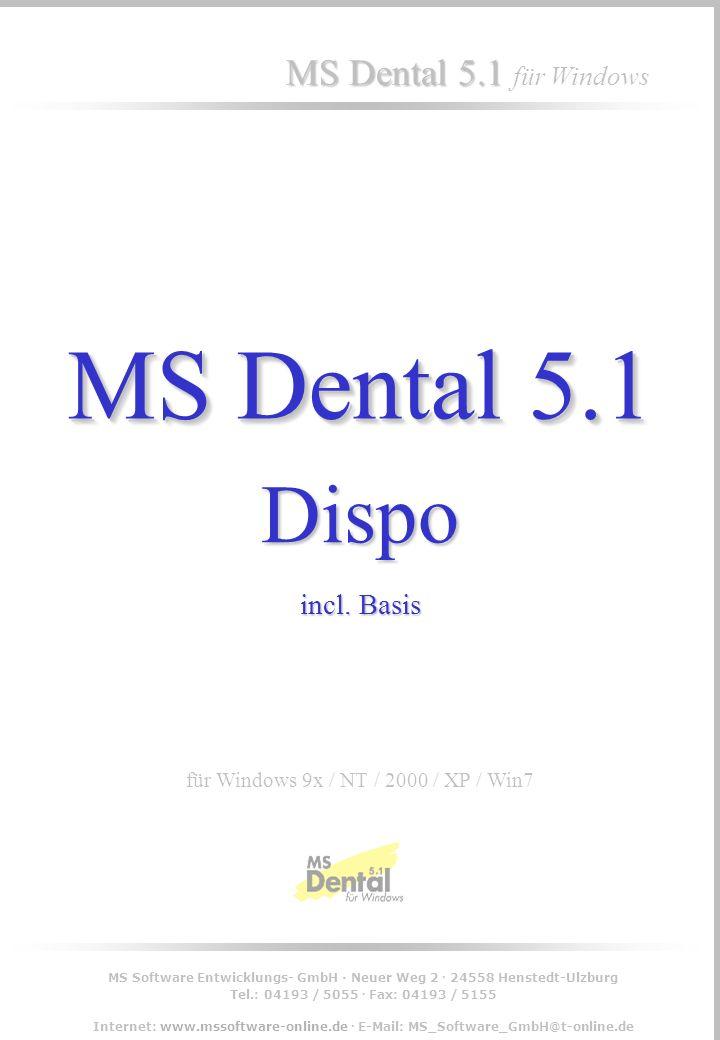 MS Software Entwicklungs- GmbH · Neuer Weg 2 · 24558 Henstedt-Ulzburg