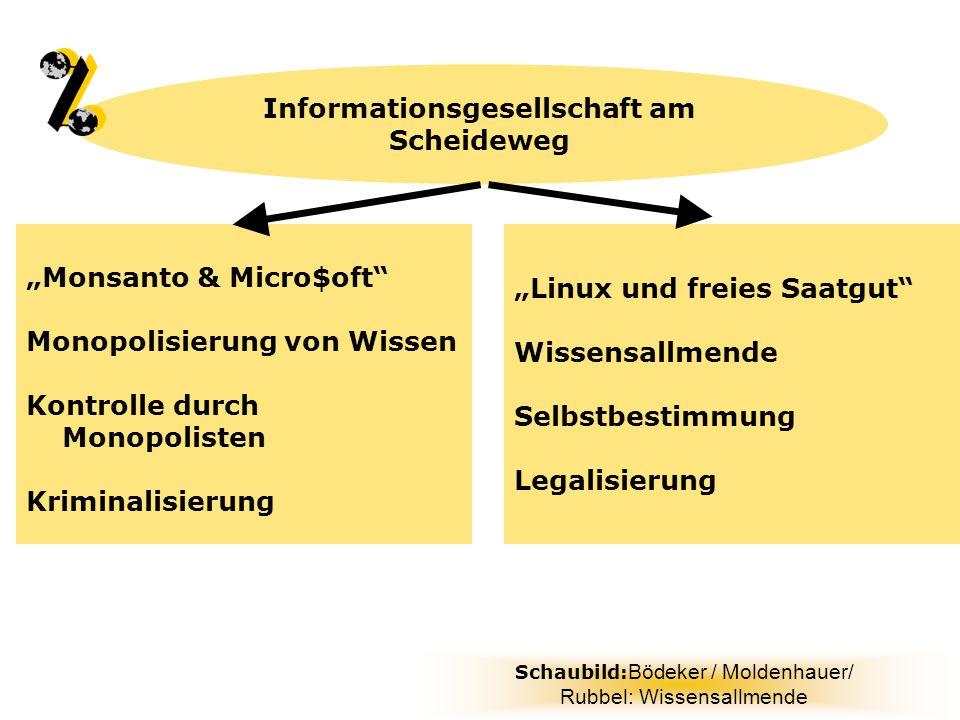 Informationsgesellschaft am Scheideweg