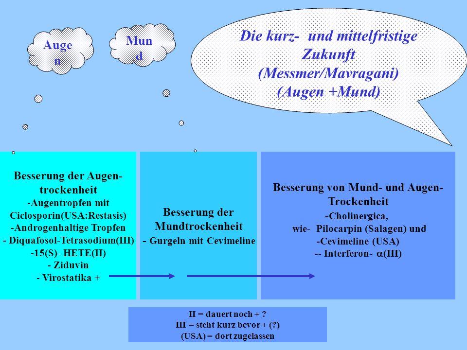 Die kurz- und mittelfristige Zukunft (Messmer/Mavragani) (Augen +Mund)