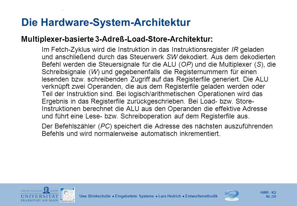 Die Hardware-System-Architektur