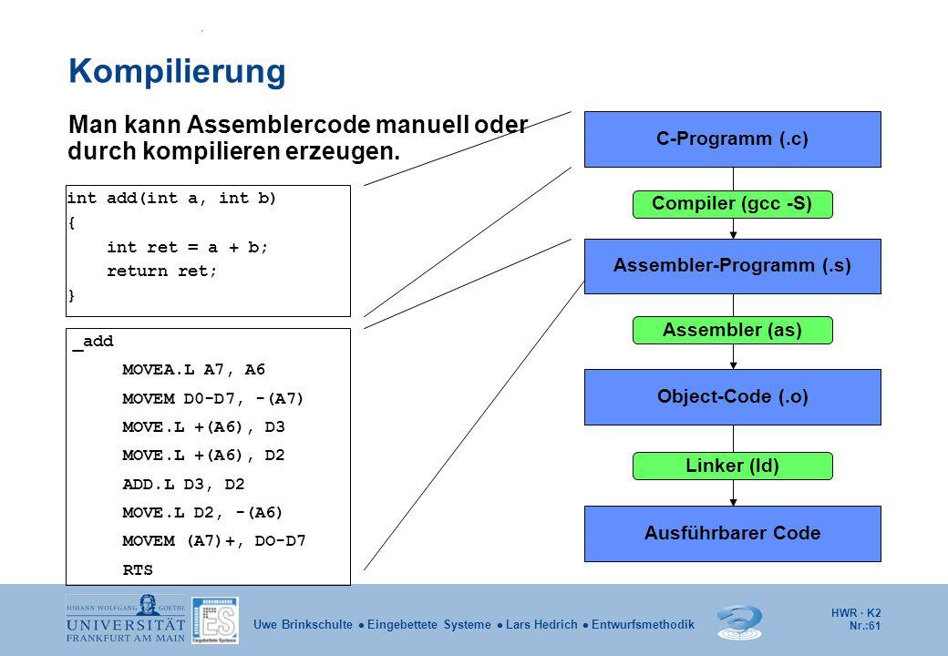 Assembler-Programm (.s)