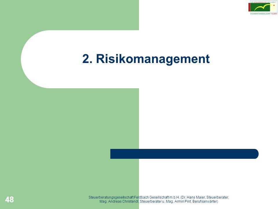 2. Risikomanagement