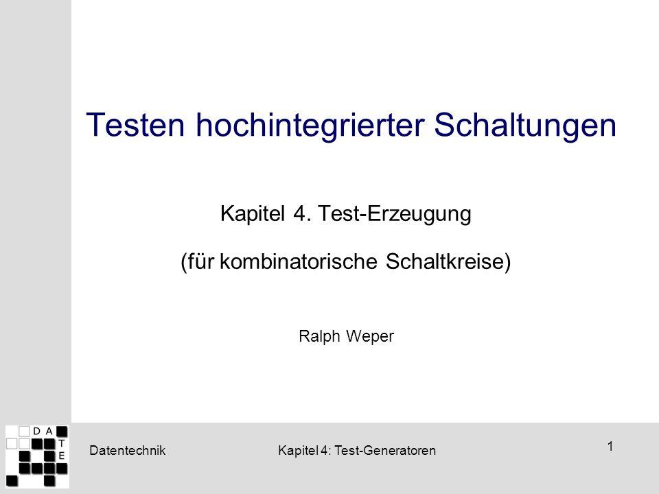 Testen hochintegrierter Schaltungen