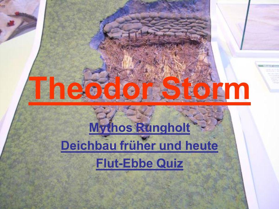 Mythos Rungholt Deichbau früher und heute Flut-Ebbe Quiz