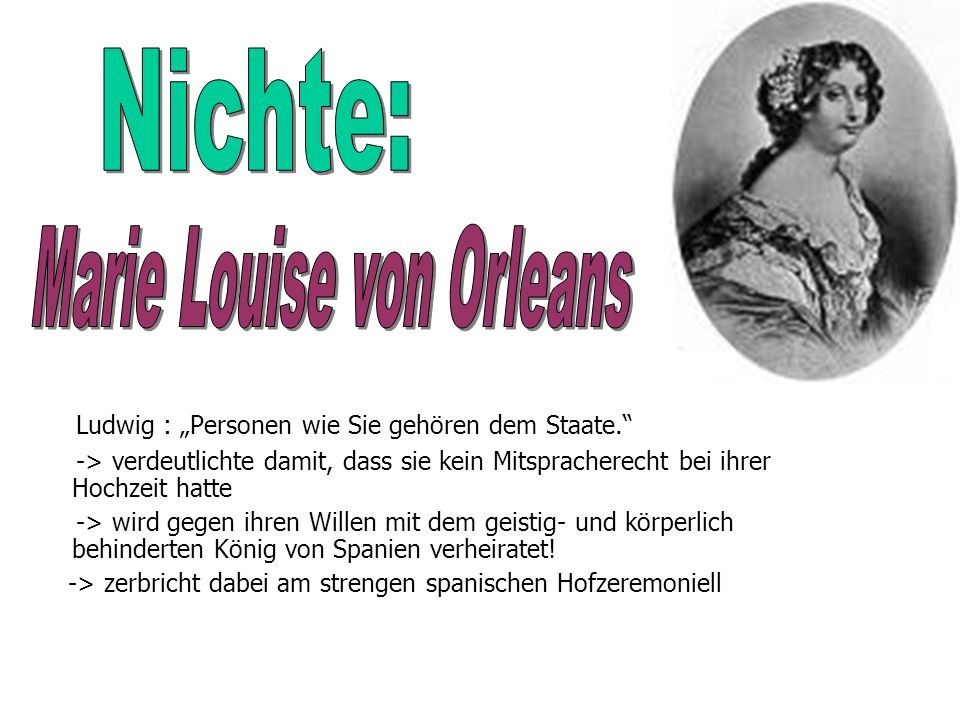 Marie Louise von Orleans