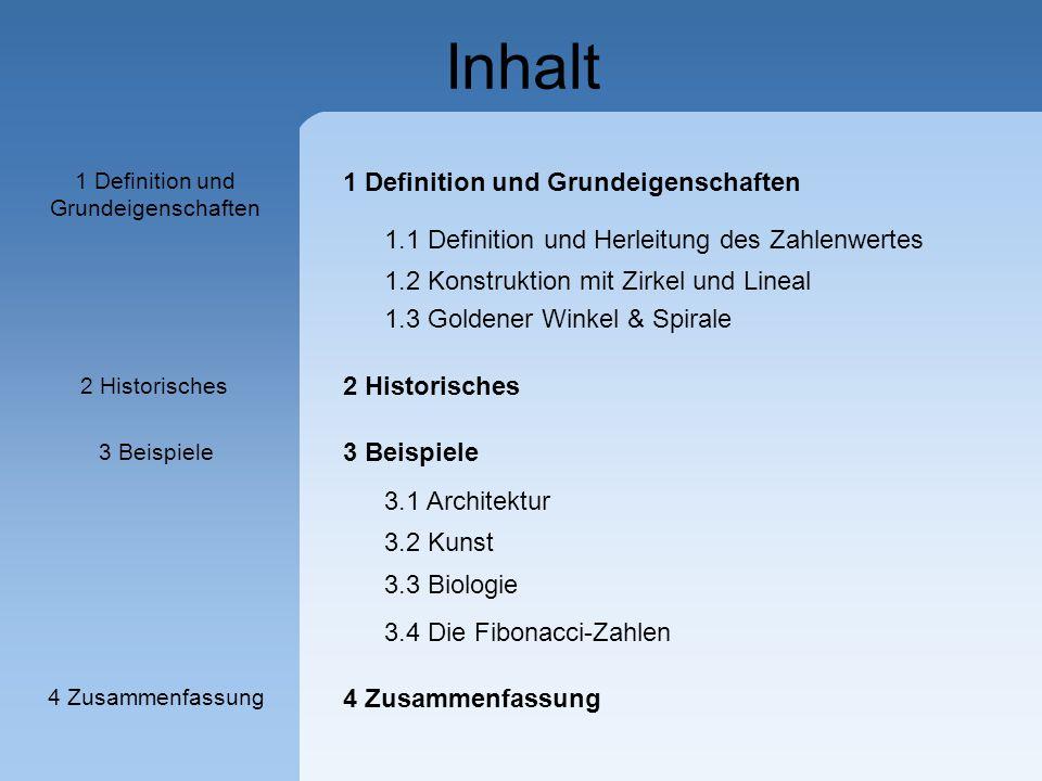 1 Definition und Grundeigenschaften