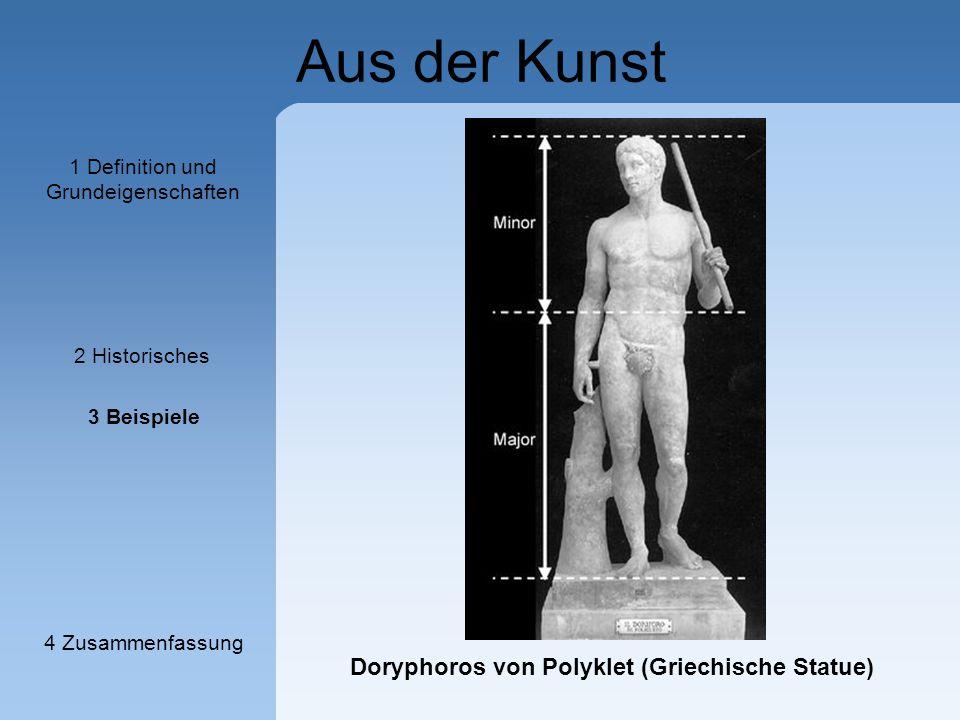 Doryphoros von Polyklet (Griechische Statue)