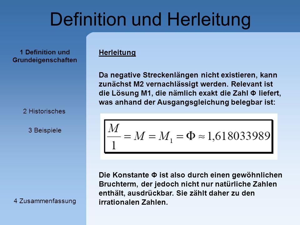 Definition und Herleitung