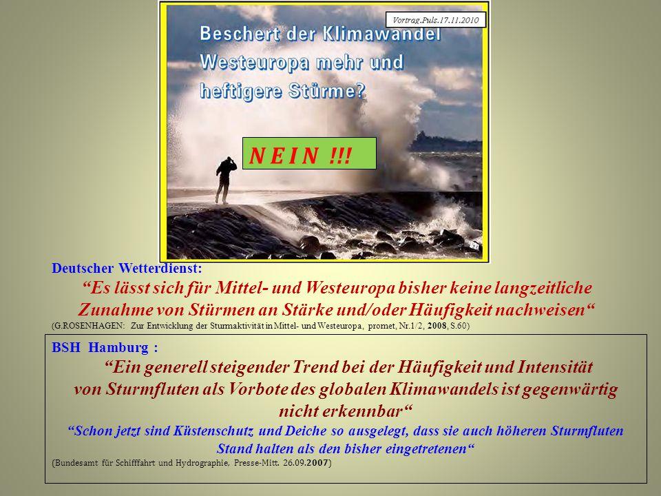 N E I N !!! Deutscher Wetterdienst: