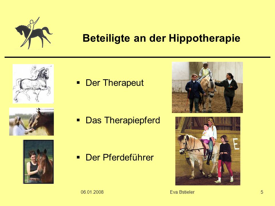 Beteiligte an der Hippotherapie