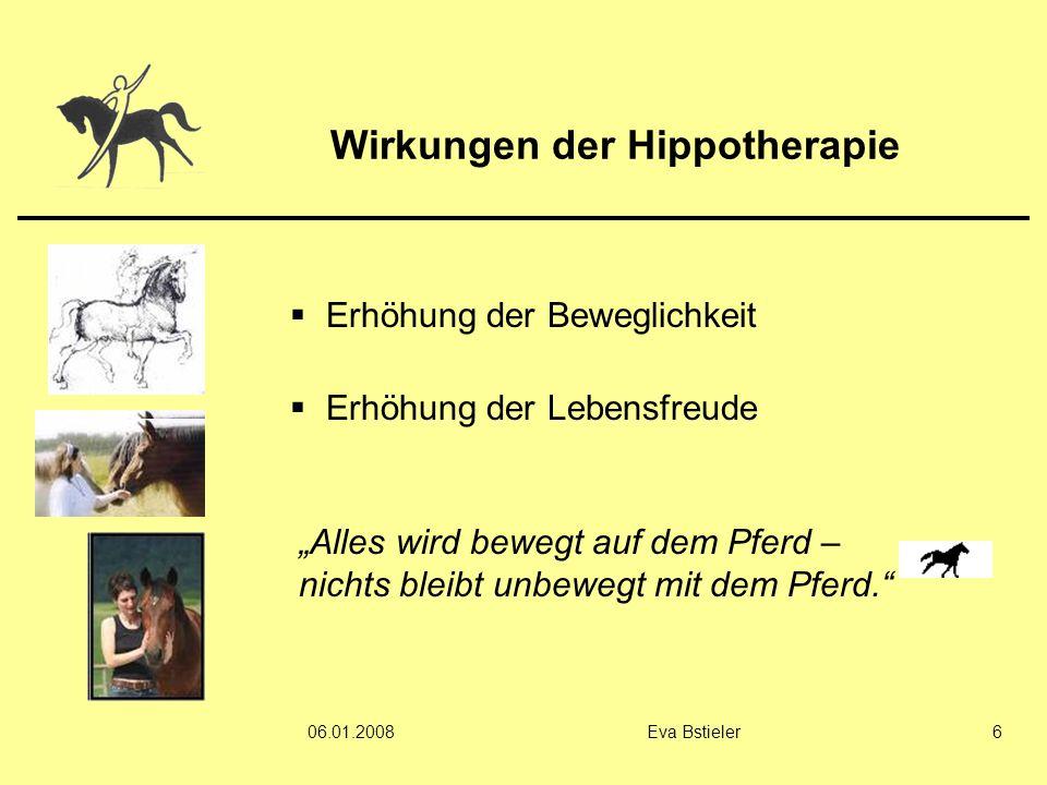 Wirkungen der Hippotherapie