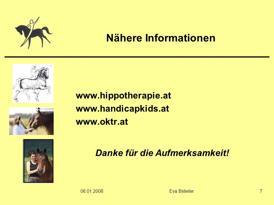 www.hippotherapie.at www.handicapkids.at www.oktr.at
