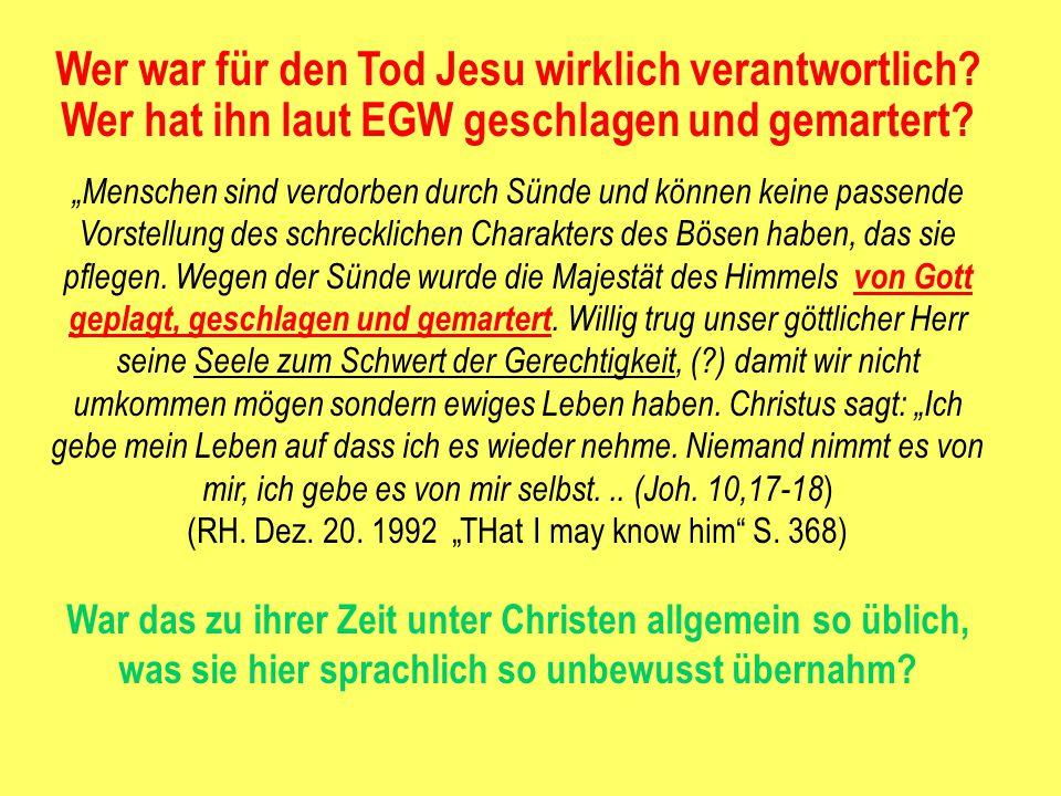 Wer war für den Tod Jesu wirklich verantwortlich