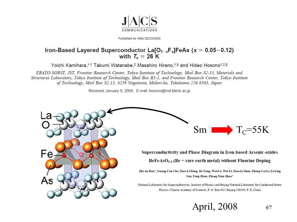 Sm TC=55K April, 2008