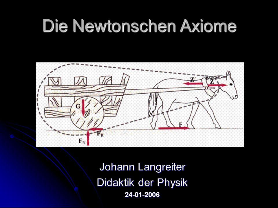 Die Newtonschen Axiome
