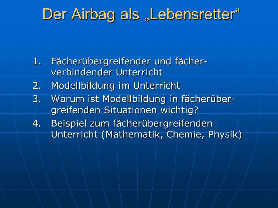 """Der Airbag als """"Lebensretter"""