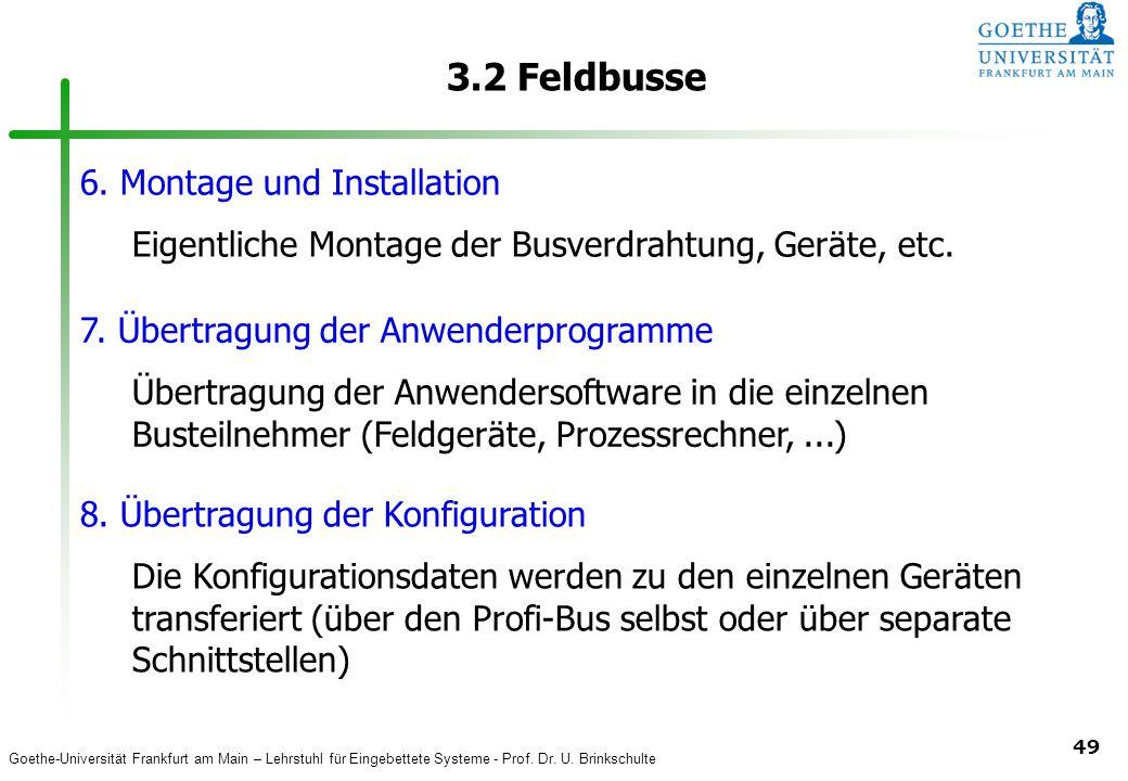 3.2 Feldbusse 6. Montage und Installation