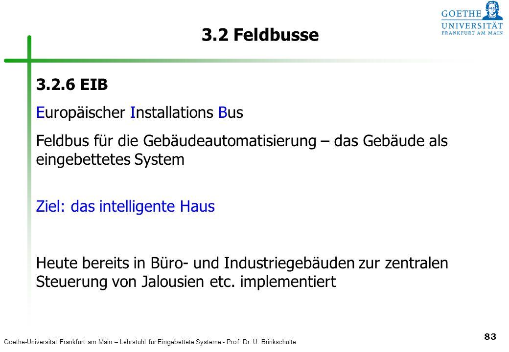3.2 Feldbusse 3.2.6 EIB Europäischer Installations Bus