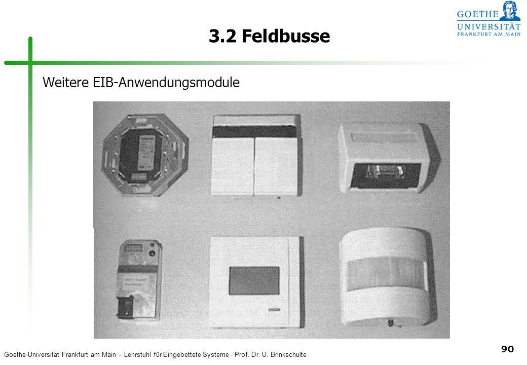 3.2 Feldbusse Weitere EIB-Anwendungsmodule