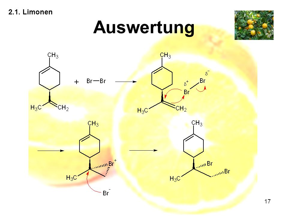 2.1. Limonen Auswertung