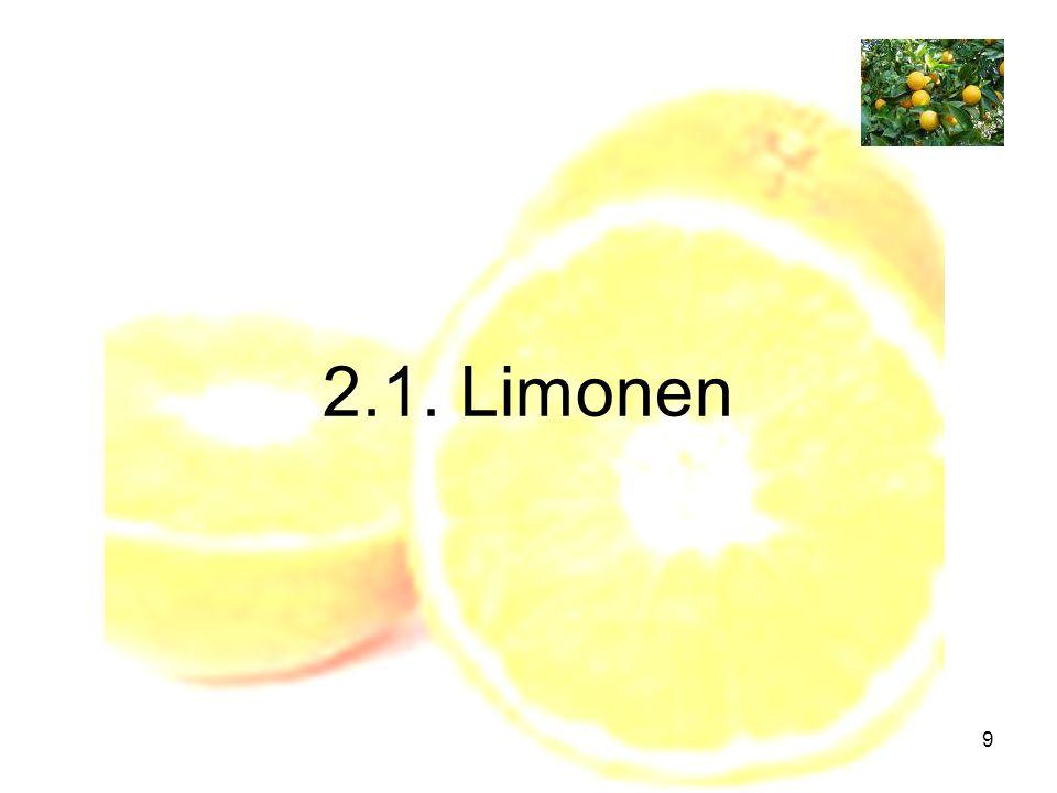2.1. Limonen