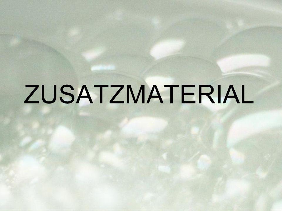 ZUSATZMATERIAL
