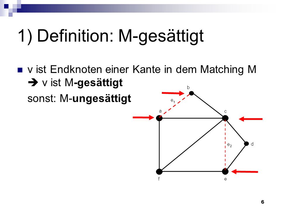 1) Definition: M-gesättigt