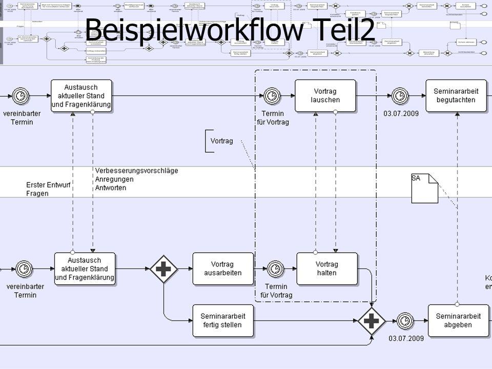 Beispielworkflow Teil2