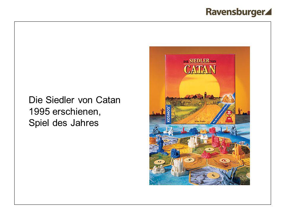 Die Siedler von Catan 1995 erschienen, Spiel des Jahres