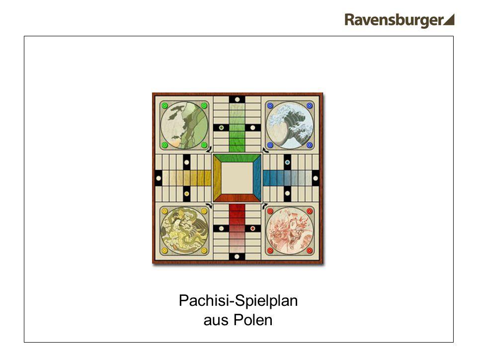Pachisi-Spielplan aus Polen