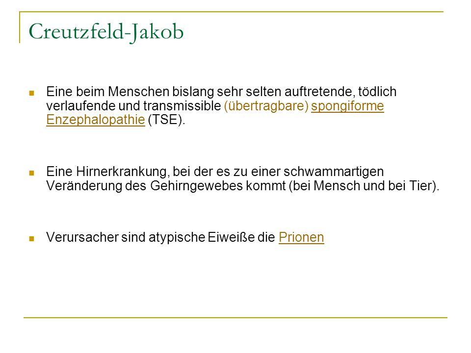 Creutzfeld-Jakob